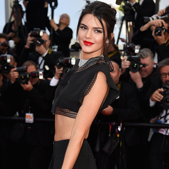 Kendall Jenner Wearing a Crop Top at Cannes Film Festival