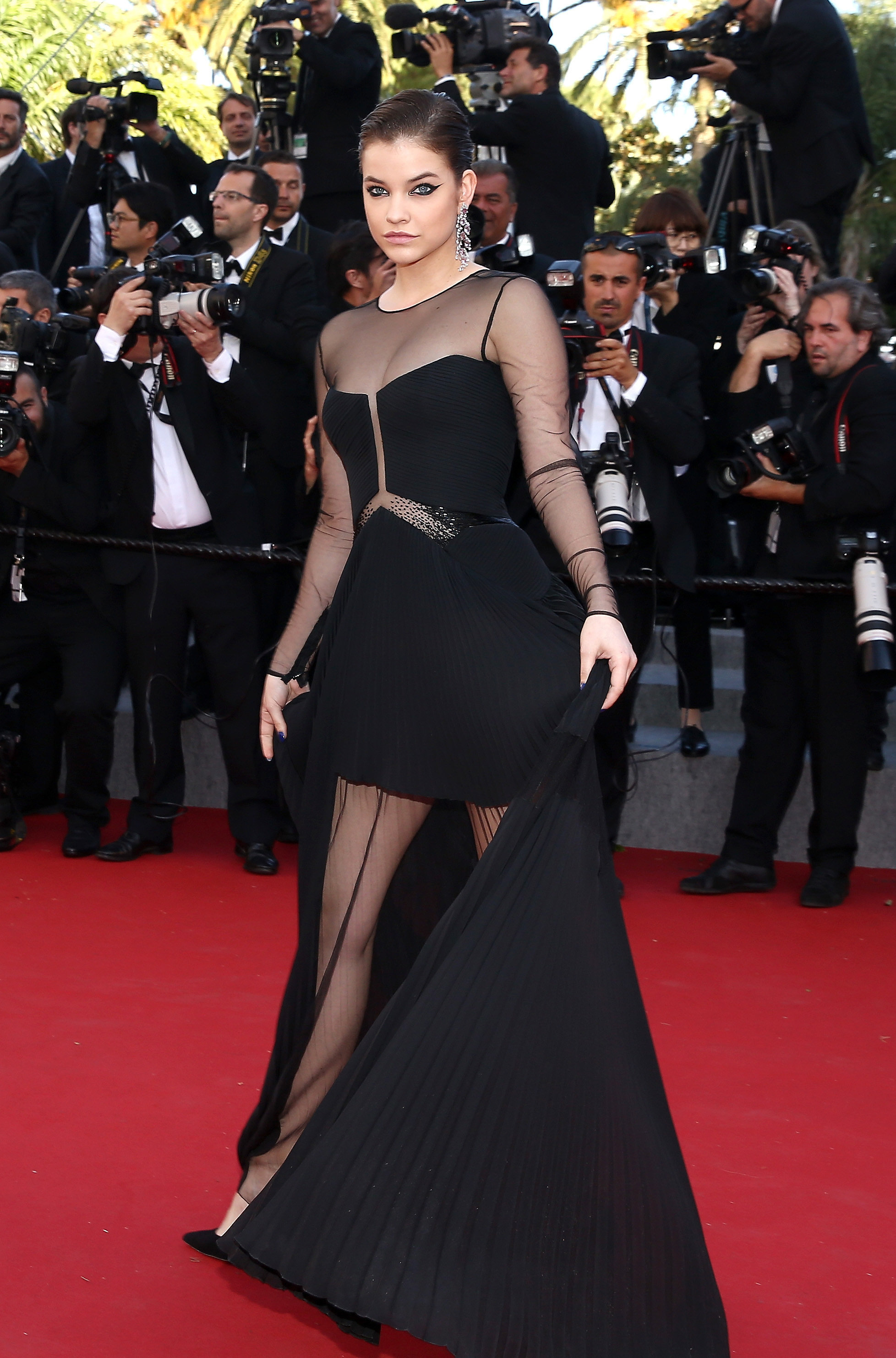 Barbara palvin the prettiest dresses we 39 ve ever seen walked the red carpet at cannes - Barbara palvin red carpet ...
