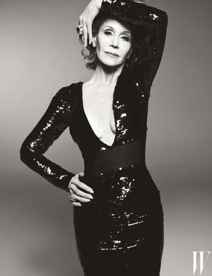 Jane Fonda Covers W Magazine at 77