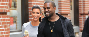 Proof That Kim's Been Making Kanye Smile Since 2012