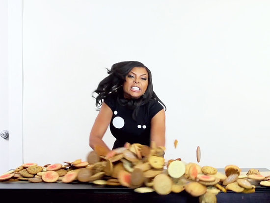 Taraji P. Henson, Jay Leno Among Stars Who Show Us How to Trash Our Desks (VIDEO)