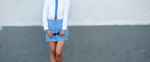 17 Ways to Wear Your Denim Skirt