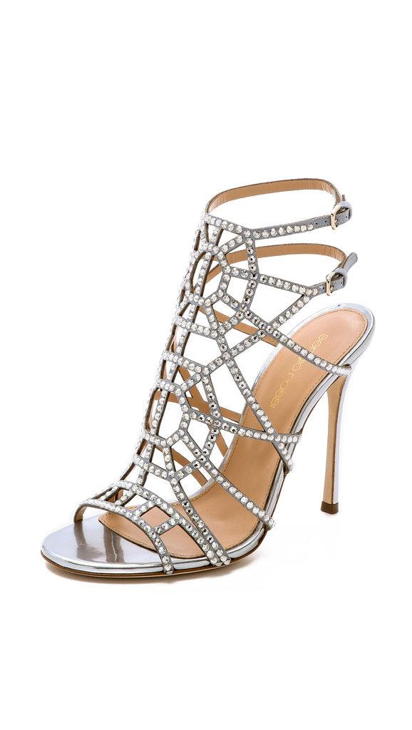 Sergio Rossi Crystal Puzzle Heels