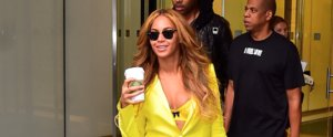 Beyoncé's Yellow Suit Is Sssssmokin'