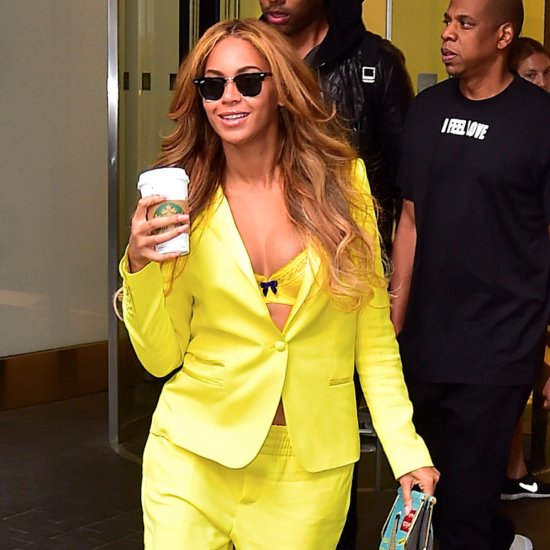 Beyonce's Yellow Suit