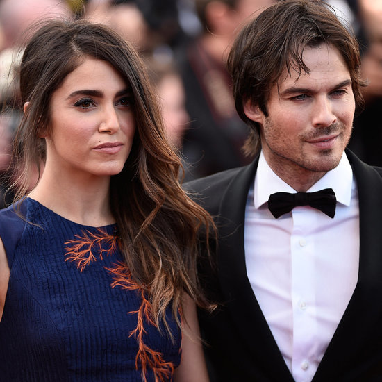 Ian Somerhalder and Nikki Reed at Cannes 2015