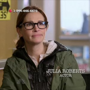 Video of Julia Roberts and Liam Neeson's Real Voices