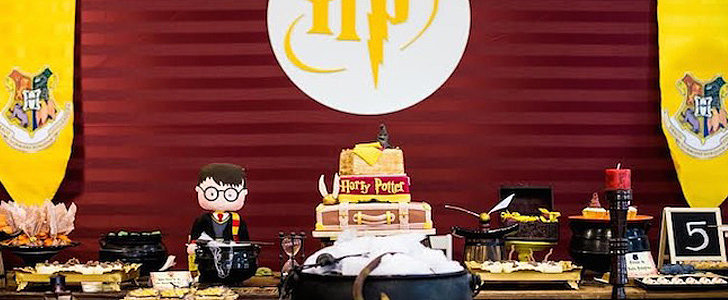 This Harry Potter Birthday Party Is Guaranteed to Charm