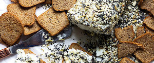 Everything Bagel Goat Cheese Is Just the Appetizer Your Party Needs