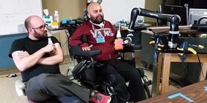 Mind-Controlled Robot Arm Lets Paralyzed Man Drink A Beer On His Own