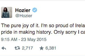 31 Of The Best Celeb Twitter Reactions To Ireland's Historic Referendum