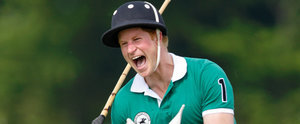 Prince Harry Plays Polo For Charity After Meeting Princess Charlotte
