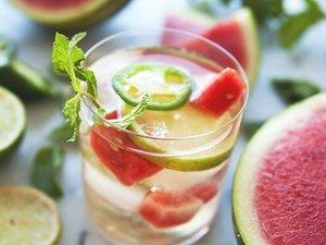 Spicy Watermelon Sangria