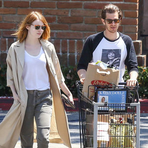 Pictures of Emma Stone and Andrew Garfield Back Together