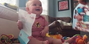 Viral Video Shows Baby Laughing When Parents Tear Catalog