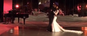 Watch Kim and Kanye's Sexy First Dance as Husband and Wife