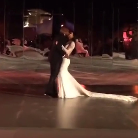 Kim Kardashian and Kanye West's First Dance at Wedding Video