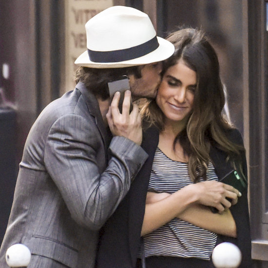 Ian Somerhalder and Nikki Reed in Paris May 2015