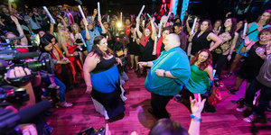 The 'Dancing Man' Who Was Body Shamed Finally Got His Epic Dance Party