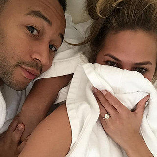 Chrissy Teigen and John Legend Spending the Day in Bed