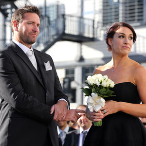Married at First Sight Clare and Lachlan's Wedding Pictures
