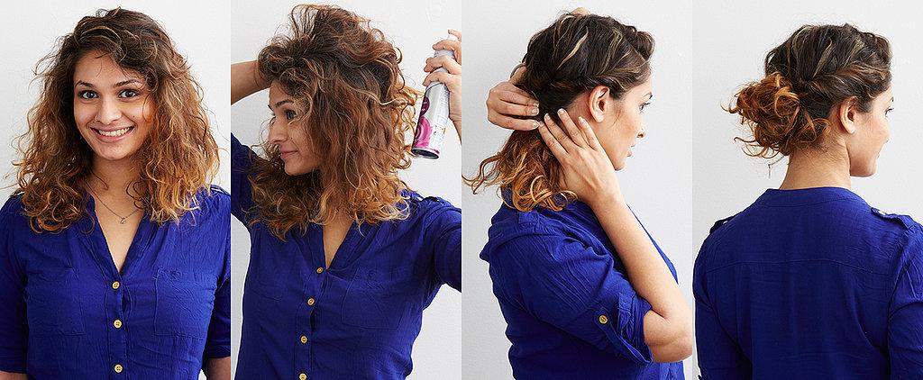 DIY Up 'Do For Natural Hair