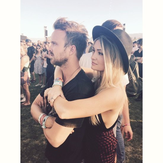 You Won't Be Able to Get Enough of Aaron Paul's Romance With Lauren Parsekian