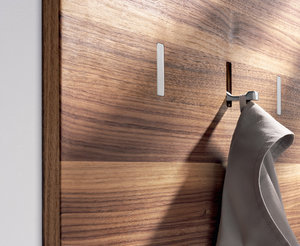 High/Low: Space-Saving Retractable Wall Hooks