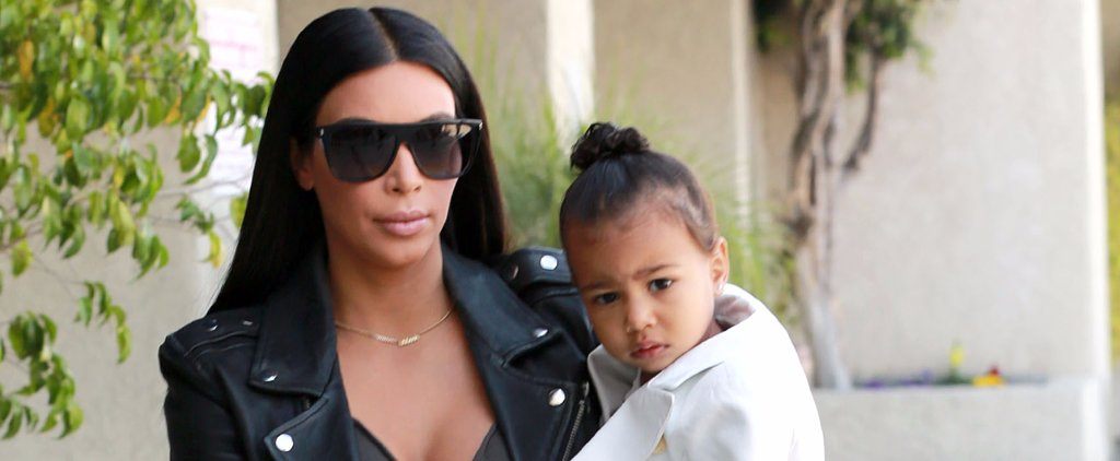 Kim Kardashian Takes Her Tiny Dancer, North West, to Ballet Class