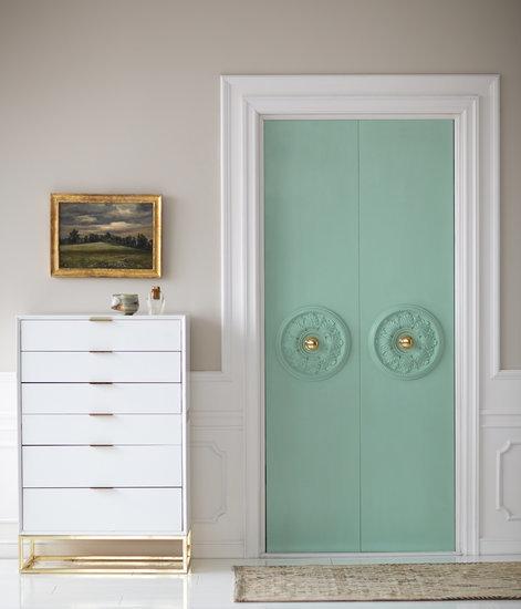 DIY Closet Door Update
