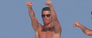 Shirtless Cristiano Ronaldo Dancing on a Yacht Is a Sight to See