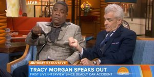 Tracy Morgan Cries In First TV Interview Since Crash On 'Today' Show