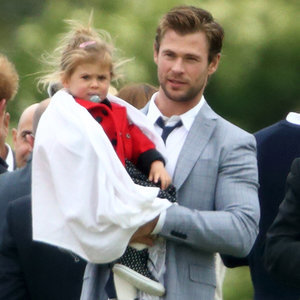 Chris Hemsworth's Family Meeting the Royals