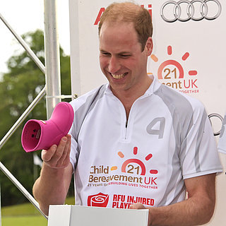 Prince William Beams as He Receives the Sweetest Gift For Princess Charlotte