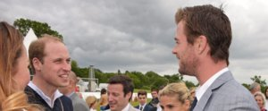 Remember That Time Prince William Met Chris Hemsworth?
