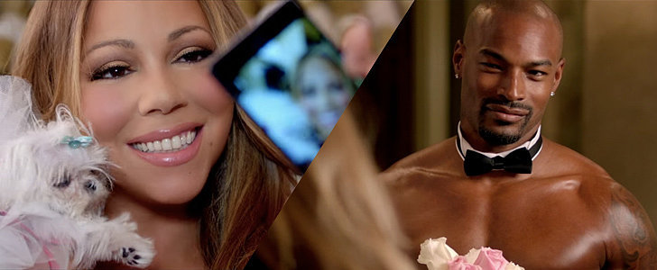 "Surprise! Mariah Carey's Online Dates Are Superhot in Her ""Infinity"" Video"