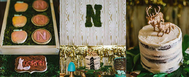 A Whimsical Woodland-Themed Party That Will Make You Feel Like You're in a Storybook