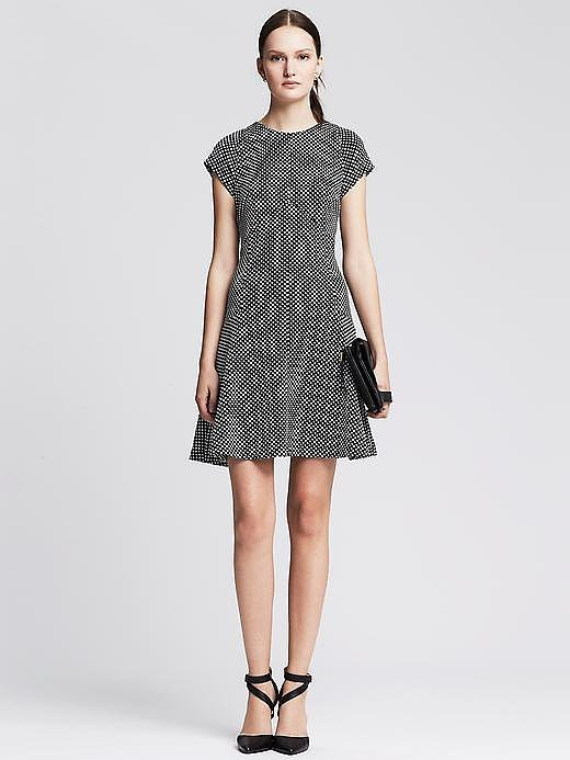 Banana Republic Fit-and-Flare Dress