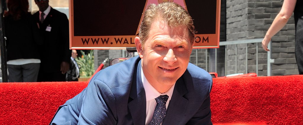 The Disturbing Interruption During Bobby Flay's Walk of Fame Ceremony
