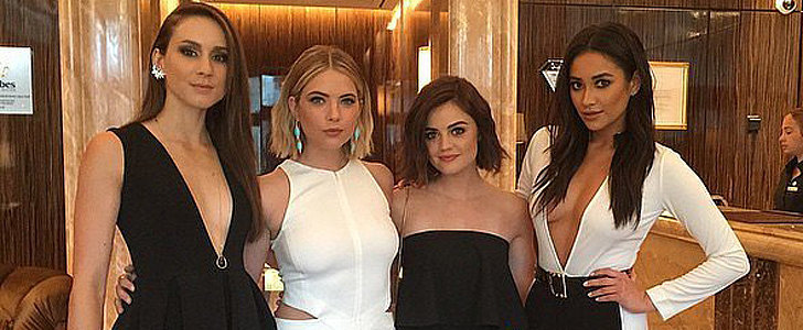 26 Photos of the Pretty Little Liars Girls That Will Give You Serious Squad Envy