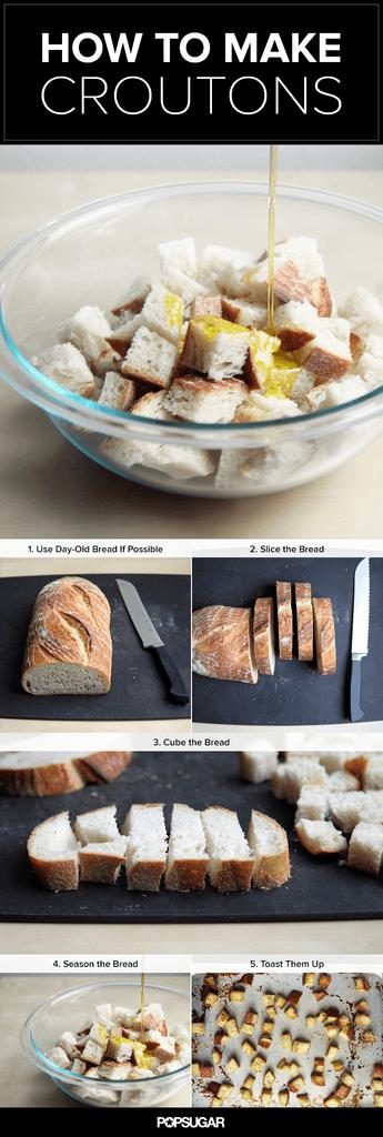 Transform Stale Bread Into a Salad Superstar