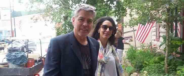 Amal and George Clooney Totally Turned Up in Kentucky