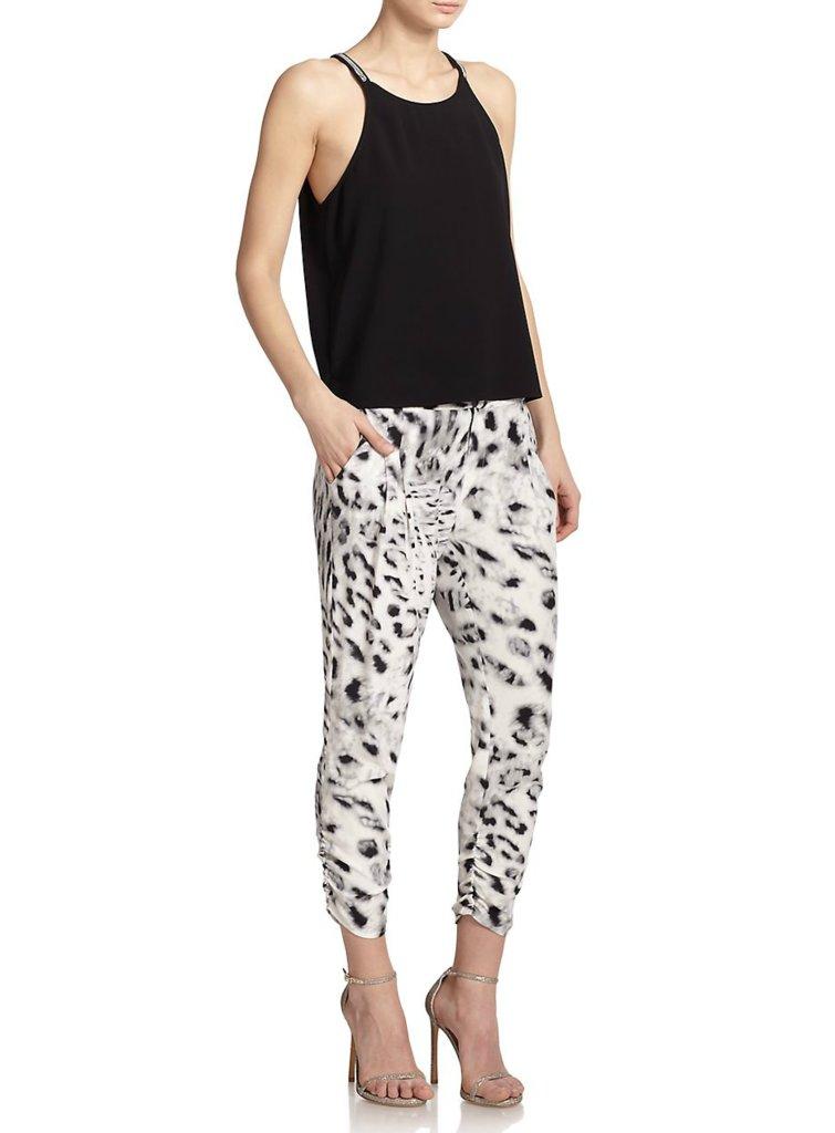 Parker Devlin Silk Pants ($198)