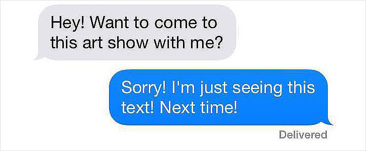 12 Flaky Texts We All Send to Get Out of Plans