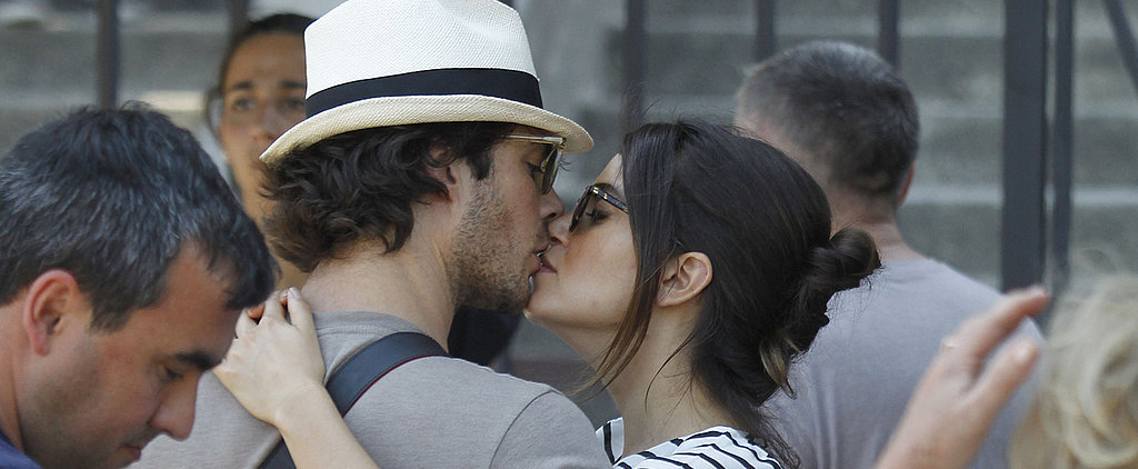 Ian Somerhalder and Nikki Reed's Latest PDA Looks Like a Straight-Up Movie Scene