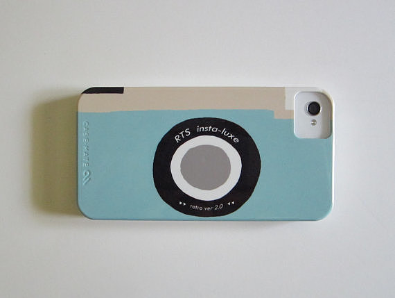 Red Tile Studio Retro Camera iPhone Case