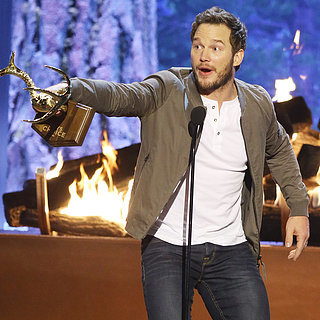 Chris Pratt Is Named Guy of the Year — and Totally Lives Up to t