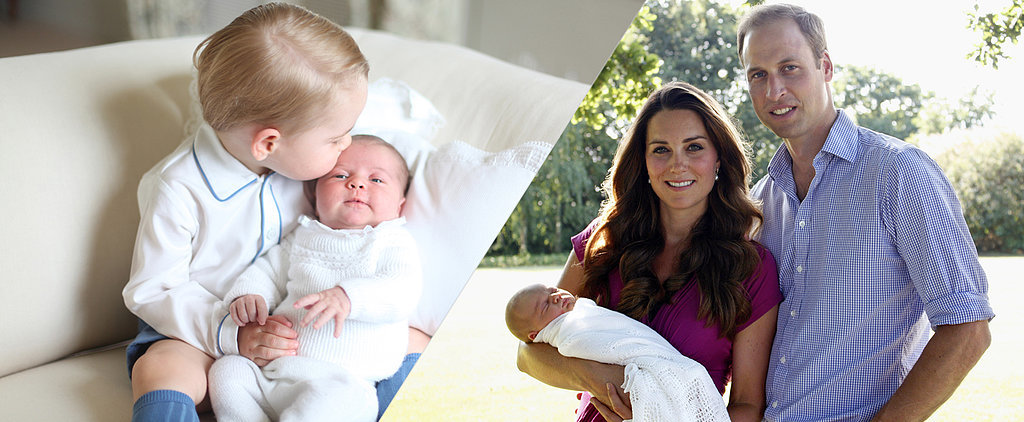 Like Brother, Like Sister! Compare Prince George's and Princess Charlotte's Portraits