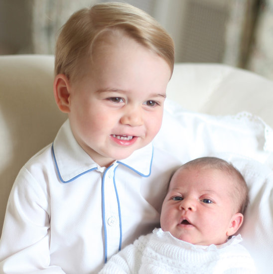 All the Adorable Portraits of Prince George and Princess Charlotte!