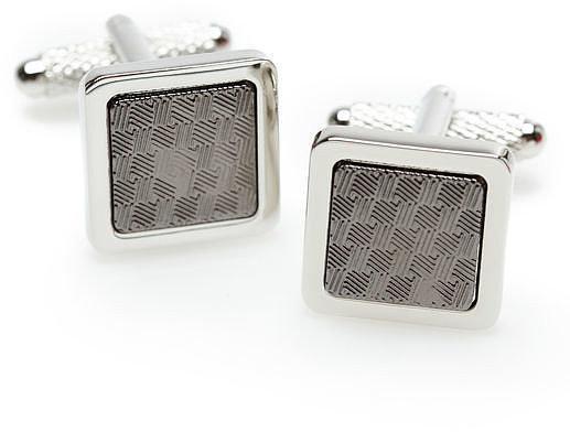 Perry Ellis Square Checker Cufflinks